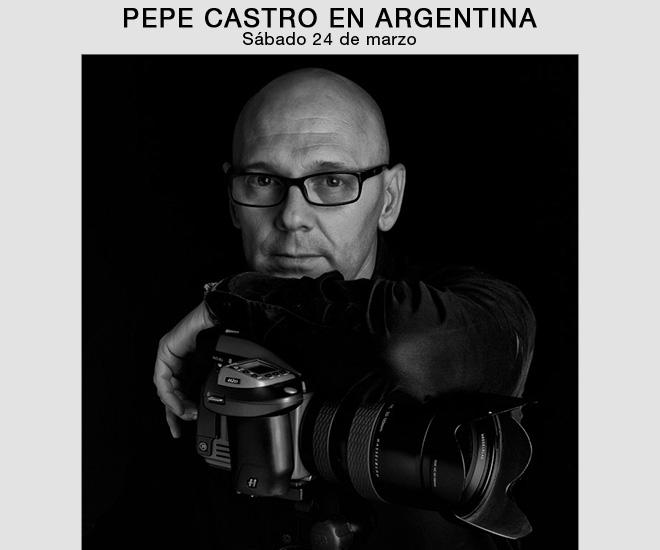 Pepe Castro en Buenos Aires